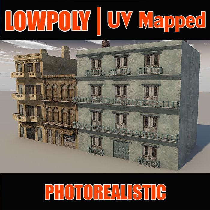 3d building l