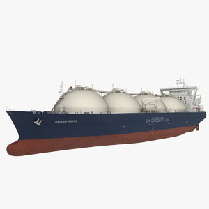 max lng tanker grand
