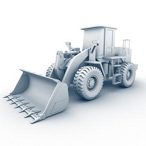 heavy loader 3d model