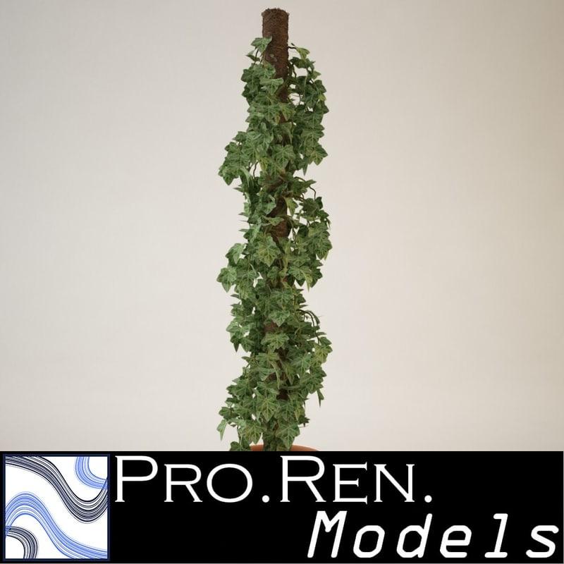 plant pot 3d max