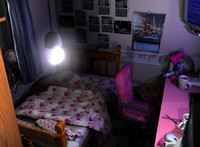 bedroom office 3d ma