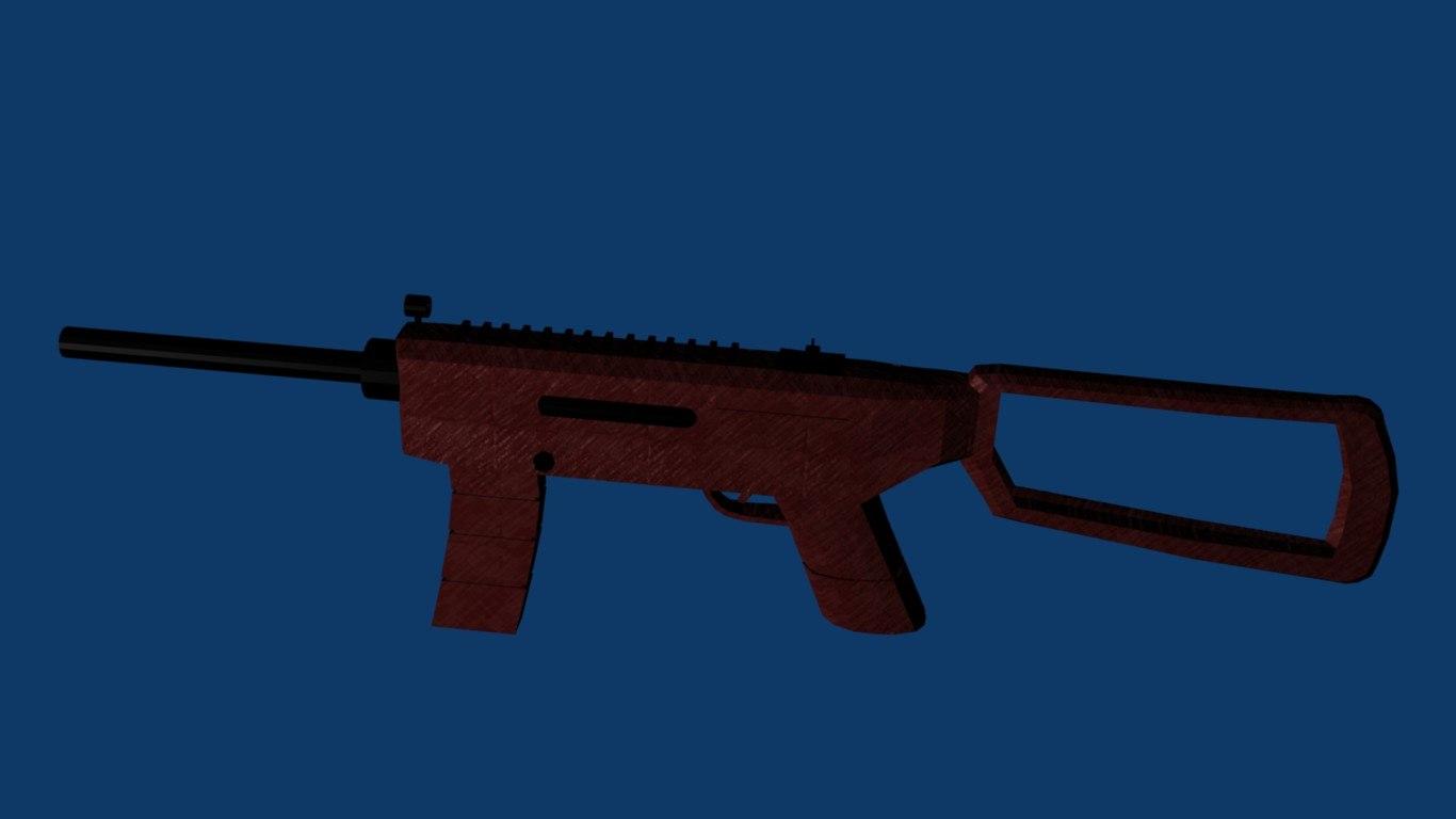 3d model smg
