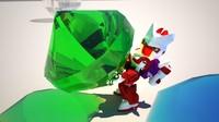 robot v-ray diamond max