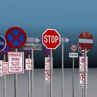 Traffic Signs Set A