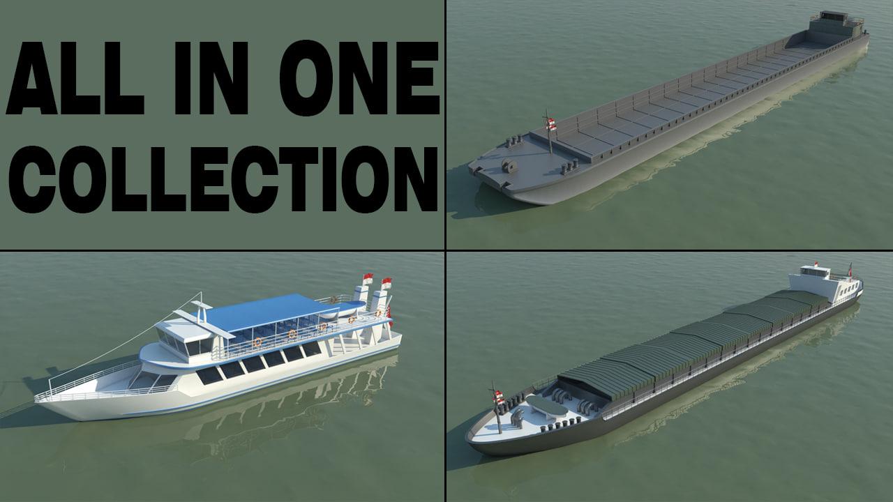 river ships obj