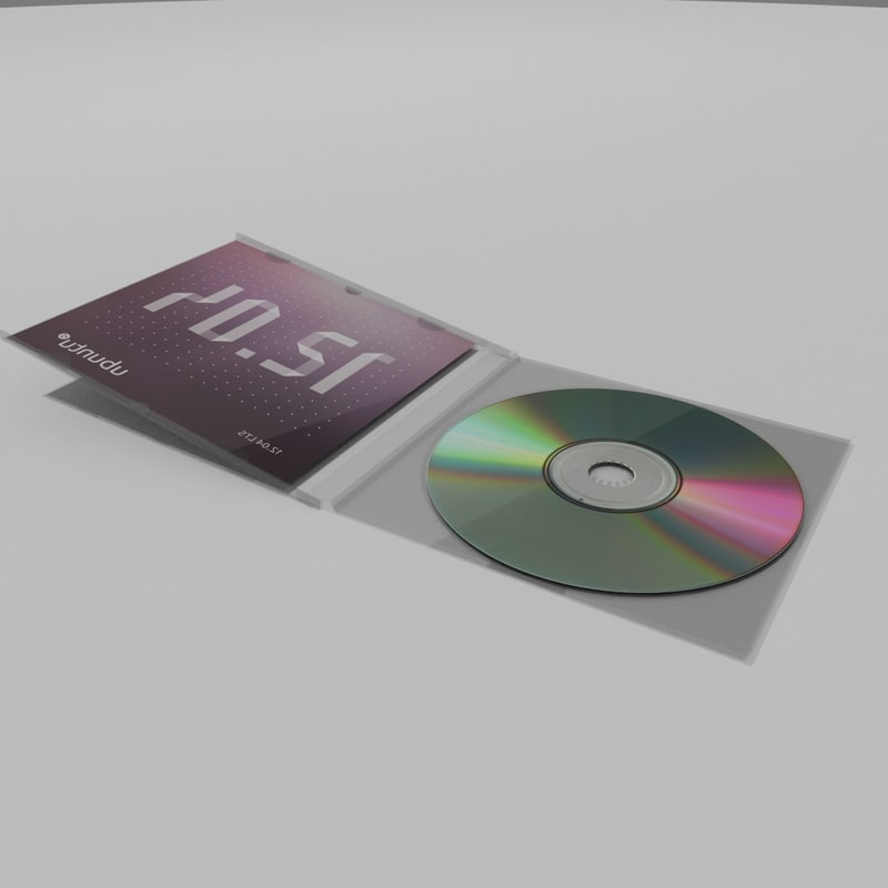 cd case 3d obj