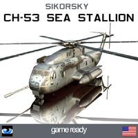 3dsmax sikorsky ch-53e super stallion
