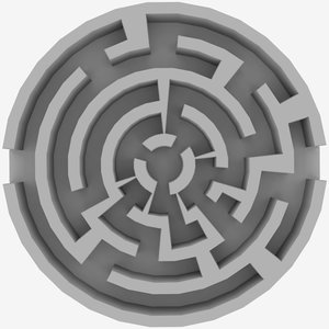 circle labyrinth 3d 3ds