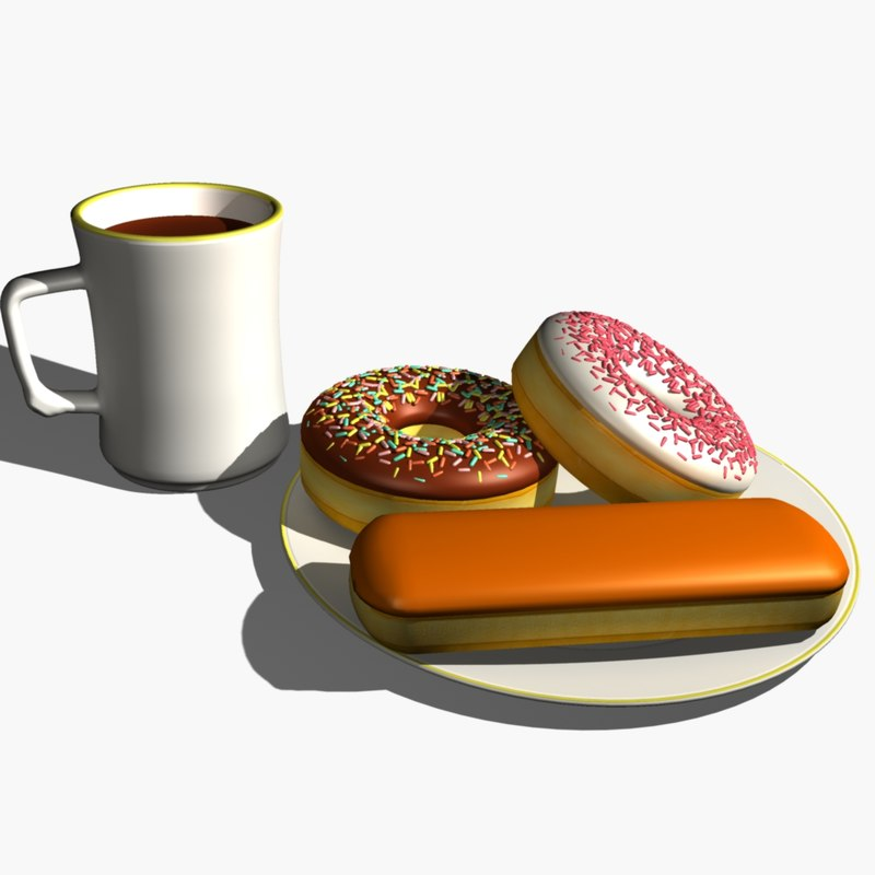 3ds max cup plate