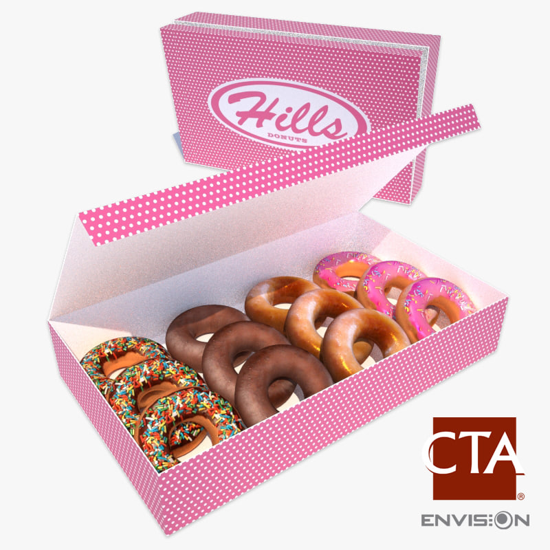 box donuts 3ds
