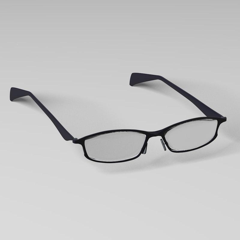 eye glasses 3d model