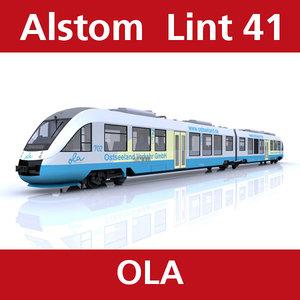 lint passenger train c4d