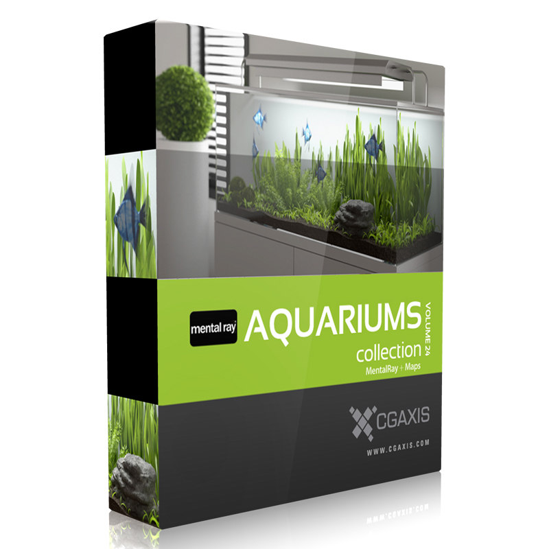 volume 24 aquariums mentalray 3d max