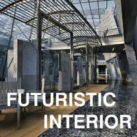 Futuristic Interior 01