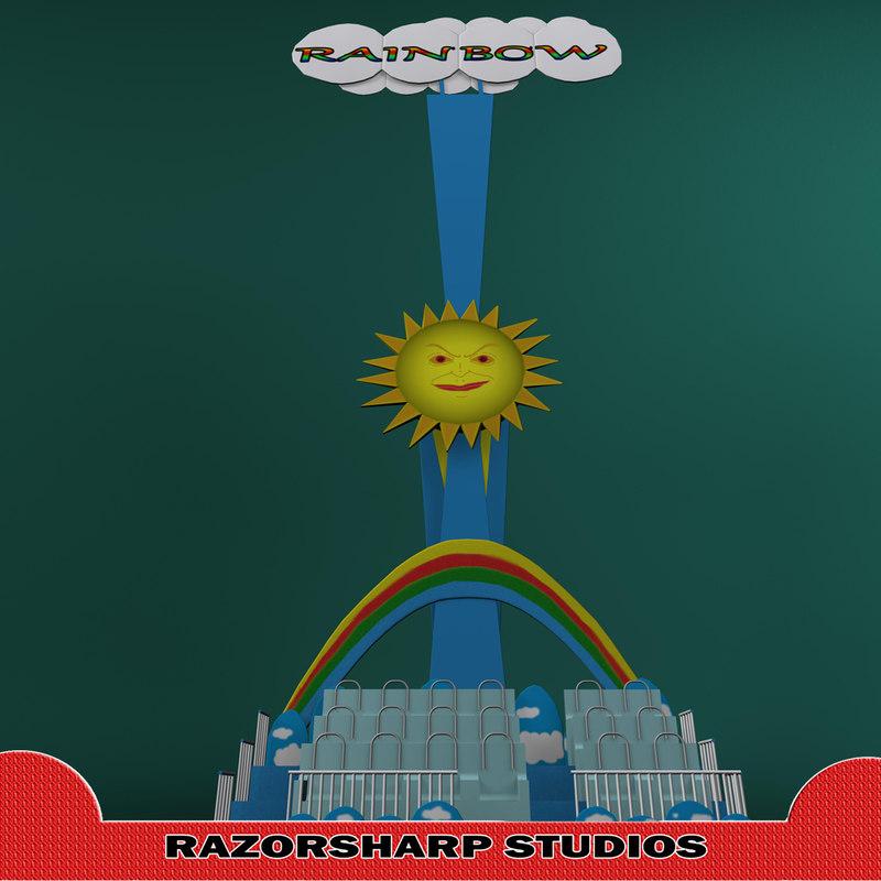 ma rainbow carnival ride