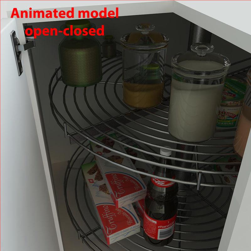 kitchen cornersystem 3d max