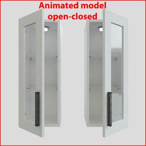 3d kitchen furnitures 30 cm
