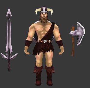 obj barbarian warrior