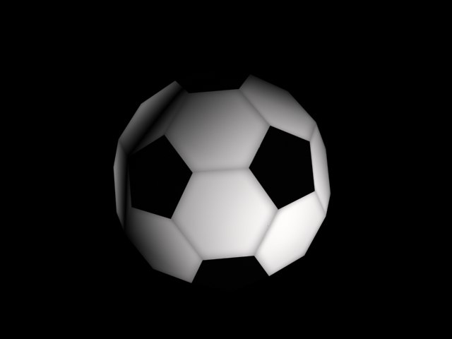 free soccer ball 3d model