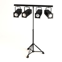 stage light 3d 3ds