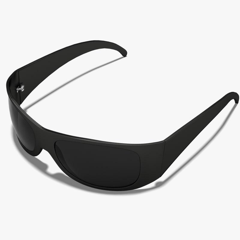glasses sunglasses 3d max