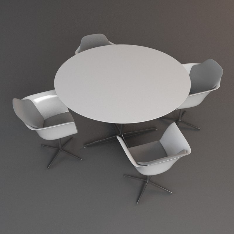 tableset 3d max