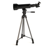tripod telescope 3d model