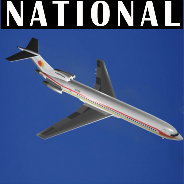 max national airlines 727-200