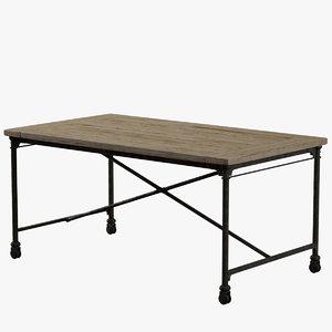 3dsmax flatiron desk