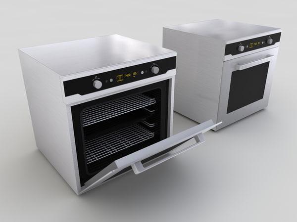 kitchen range 3d model