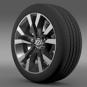 3d beetle tdi 2012 wheel