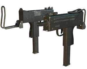 mac10 gun 3ds