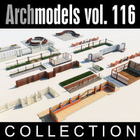 3d model archmodels vol 116