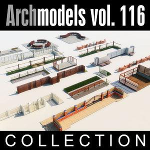3d model archmodels vol 116