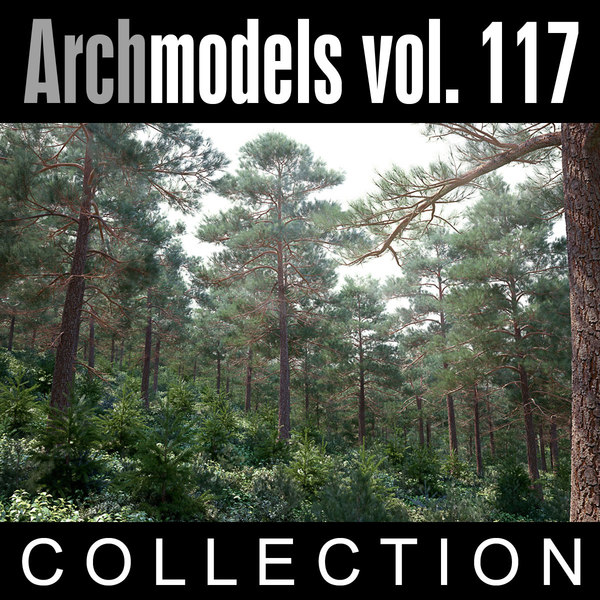 archmodels vol 117 trees obj