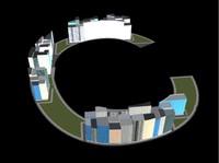 3d town c model