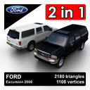 Ford excursion 3D models