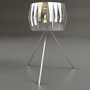 3ds max vanity lamp