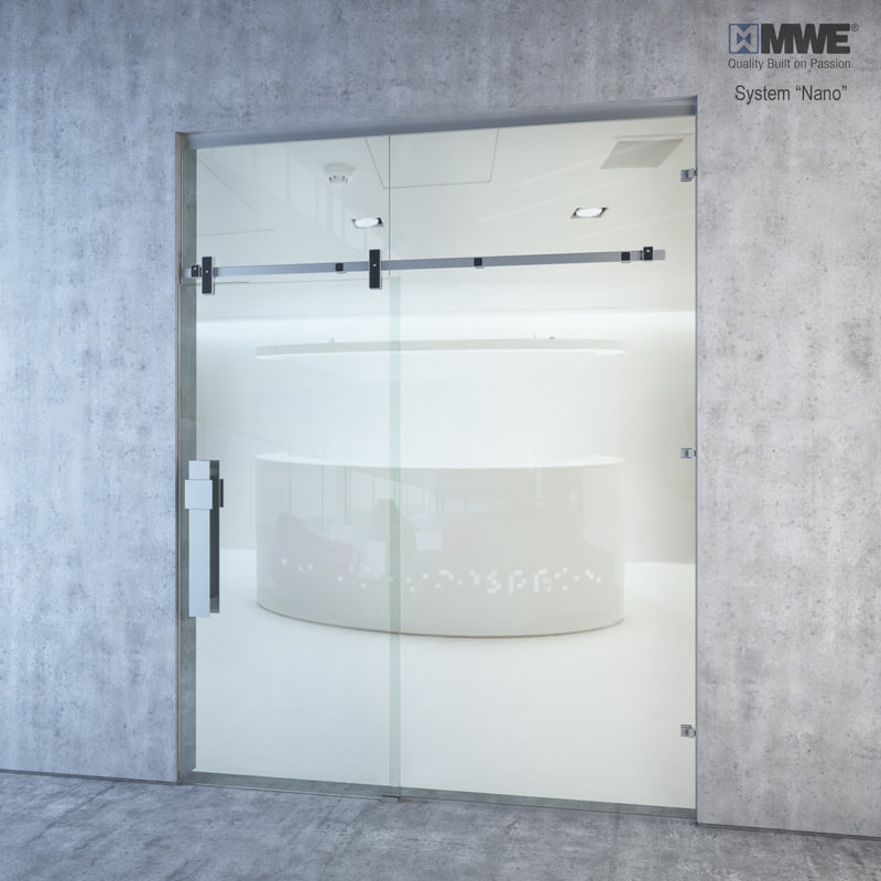 3ds max sliding doors mwe nano