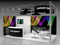 Corner Booth 6x4m
