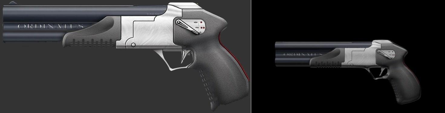 max ordinatus pistol