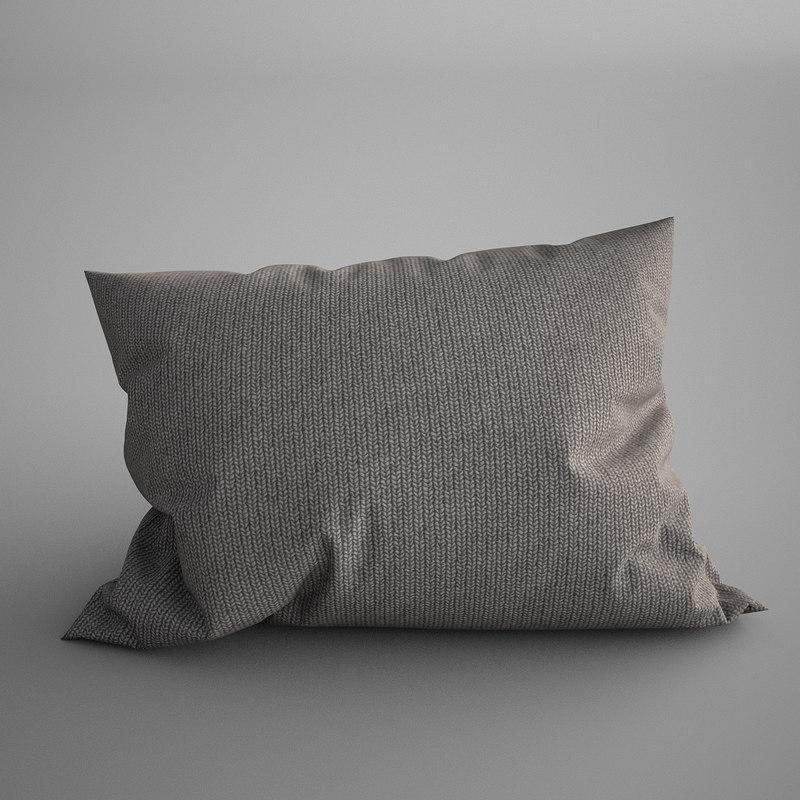 max pillow photorealistic soft