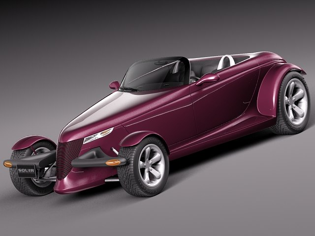 plymouth prowler concept 1993 3d model
