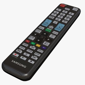 3d remote control tv