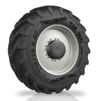 3d model tyre heavy trucks