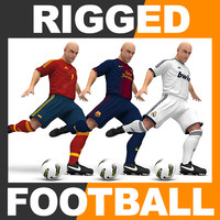 max rigged football player -
