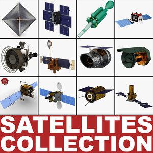 satellites 5 3d model