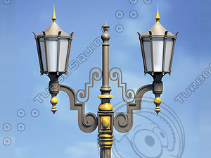 victorian lighting 3d model