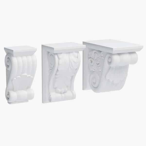 obj plaster console