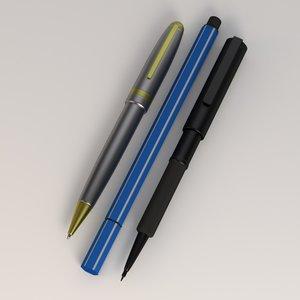obj pens
